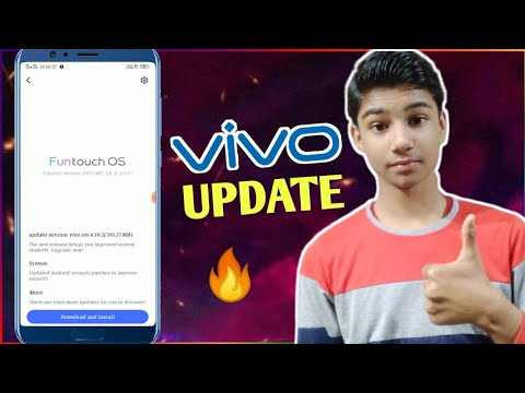 Vivo Phone New Update 🔥 | Vivo V9 6.10.2 Update | Vivo Phone System Update | V9 New Update