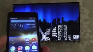 How To connect your Mobile Phone or Tablet to your TV Wirelessly using SCREEN MIRRORING(Hi, this 'How To' video shows you how to connect your Android mobile phone or tablet to your TV using Screen Mirroring. The TV in the video is a Samsung ..., 2015-07-01T12:33:56.000Z)
