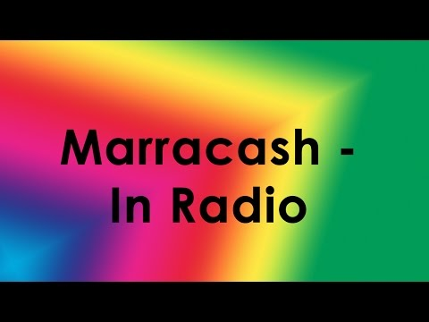 Marracash - In Radio (Lyrics/Testo)