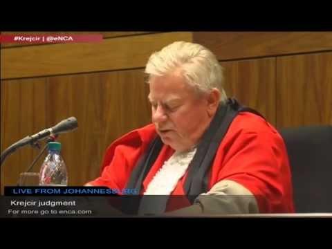 LIVE: Krejcir judgment