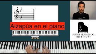(Español) Piano Flamenco Institute - #10 Alzapúa (soleá por bulerías)
