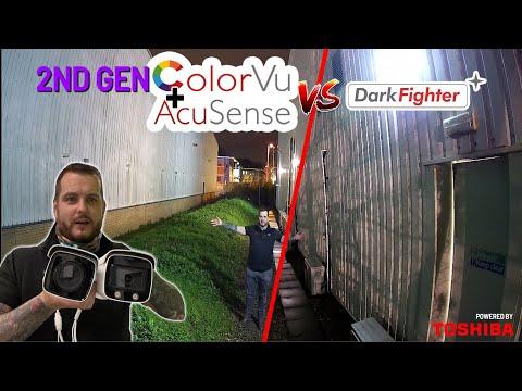 Hikvision 2e génération ColourVu + Acusense vs Darkfighter Caméras de nuit