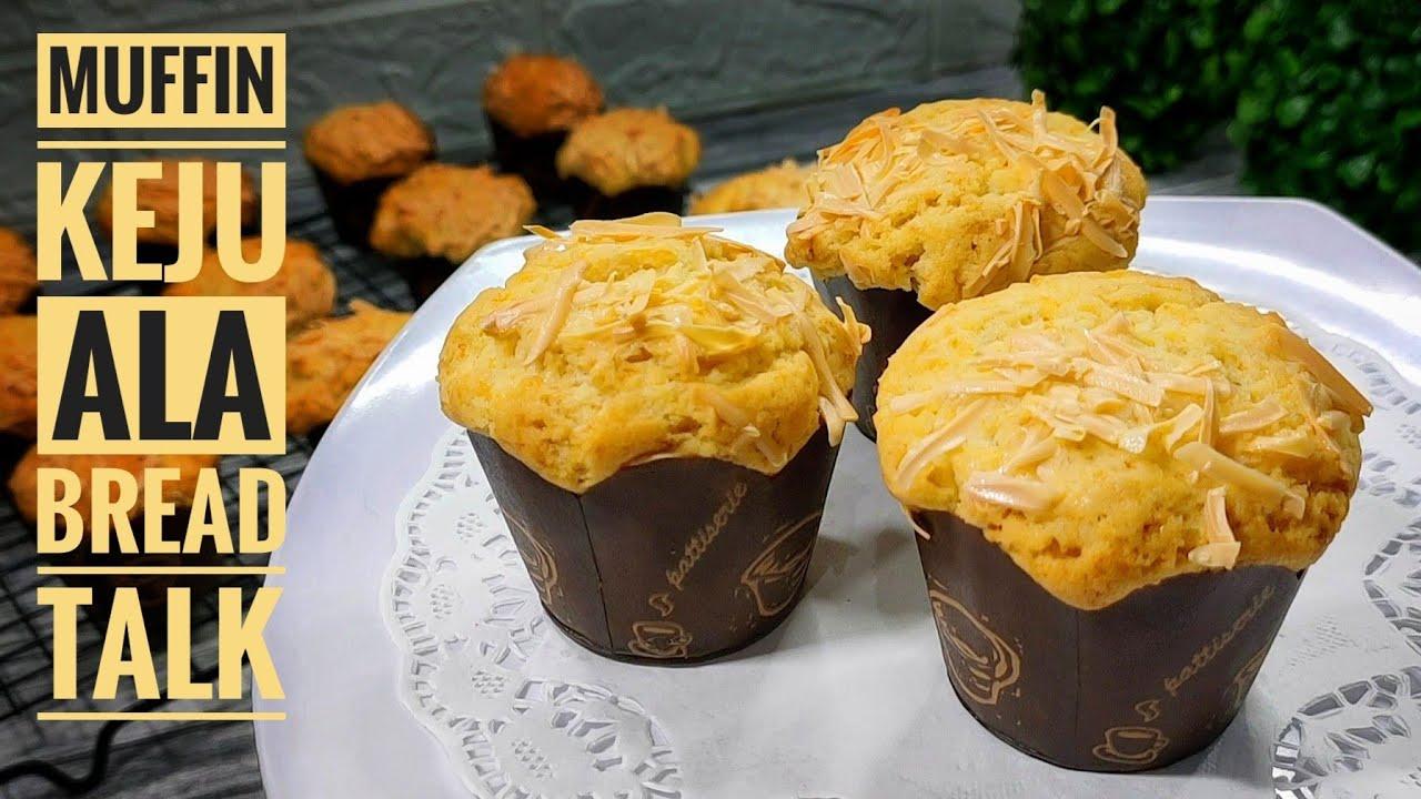 Muffin Keju Resep Muffin Keju Ala Breadtalk Cheese Muffin Recipe Youtube