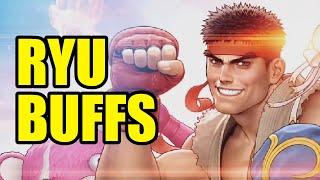 RYU BUFFS - Quick look at Ryu Season V changes - Street Fighter V