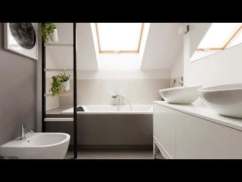 Small Attic Bathroom Decorating Ideas