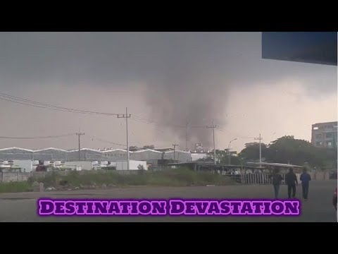 600 homes damaged, 35 injured as tornado rips through Sidoarja, Indonesia!