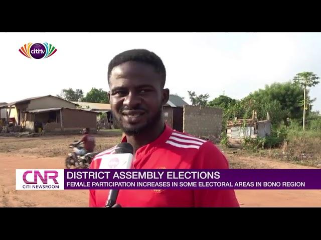Female participation increases in some electoral areas in Bono region   Citi Newsroom