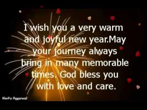 happy new year to all my family friends