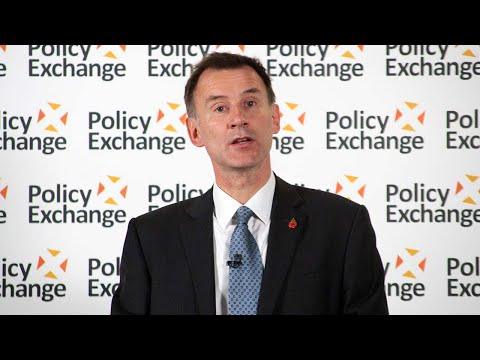 Foreign Secretary Jeremy Hunt on Britain's role in the world after Brexit