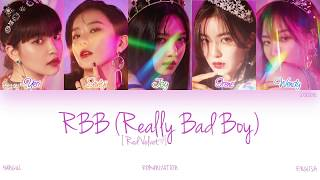 [HAN|ROM|ENG] Red Velvet (레드벨벳) - RBB (Really Bad Boy) (Color Coded Lyrics)