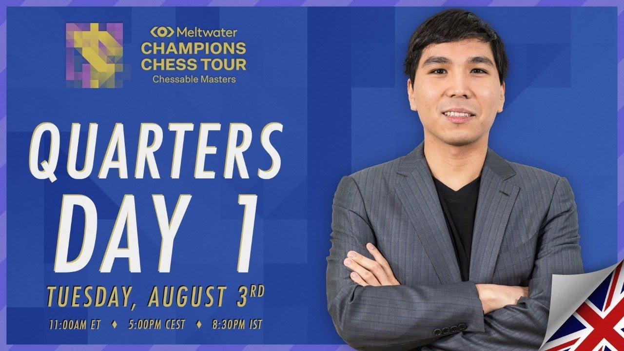 $1.6M MCCT | Chessable Masters | QF Day 1 | Daniel King & Tania Sachdev
