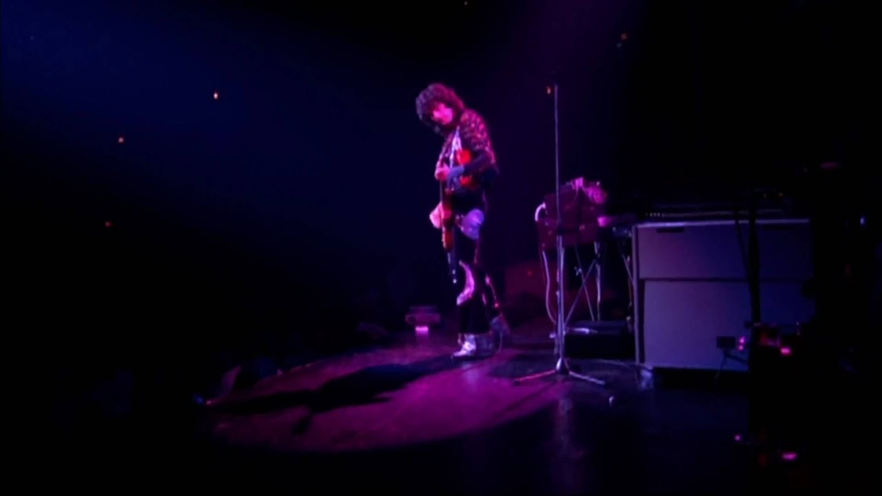 Led Zeppelin Over The Hills And Far Away Madison Square Garden 1973 Hd Youtube