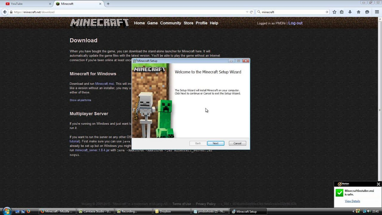 How to install Minecraft 47