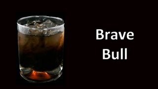 Brave Bull  Cocktail Drink Recipe HD