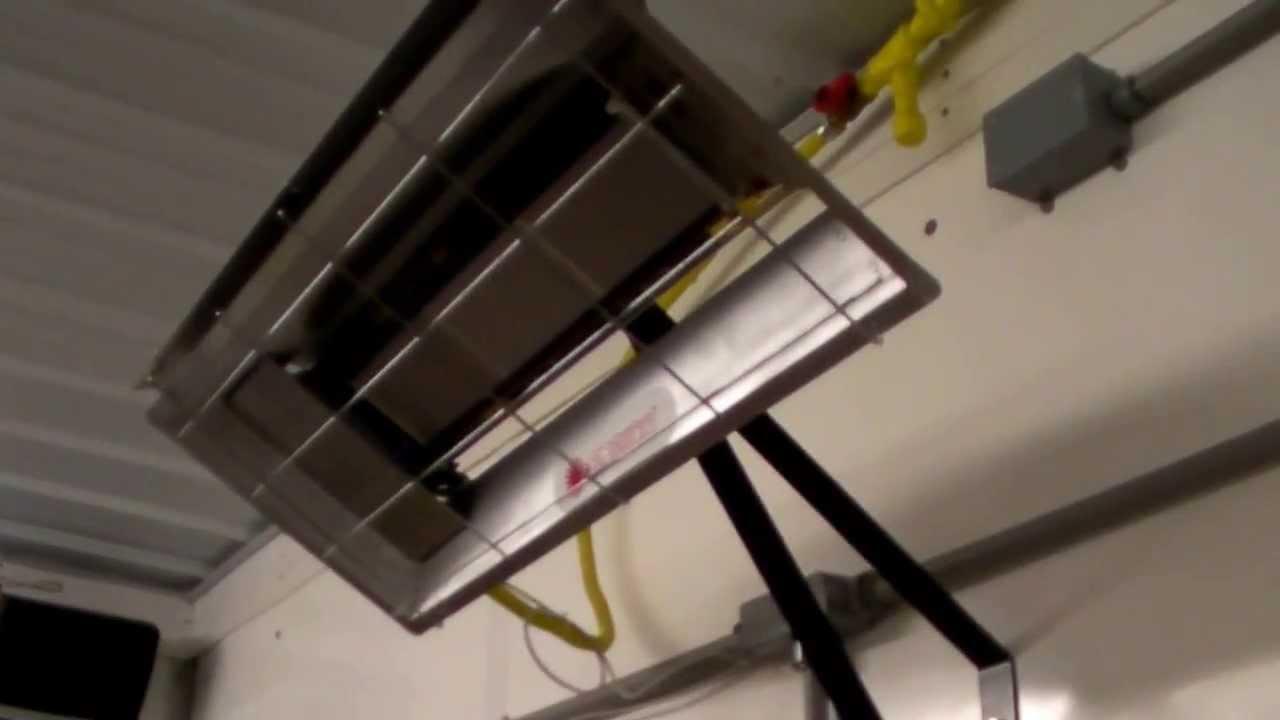 mr heater 22k lp infrared radiant garage heater mh25lp [ 1280 x 720 Pixel ]