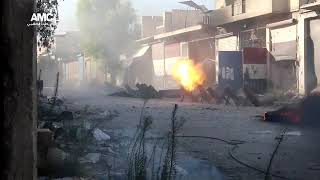 SYRIA: Archive Footage of Terrorist Hell Cannon being used in Civilian areas