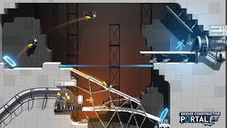 Bridge Constructor Portal Official Announcement Trailer