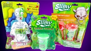 Orb Slimy Slime! Mix Your Own Slime! Horror Slime! Zombie Slime!