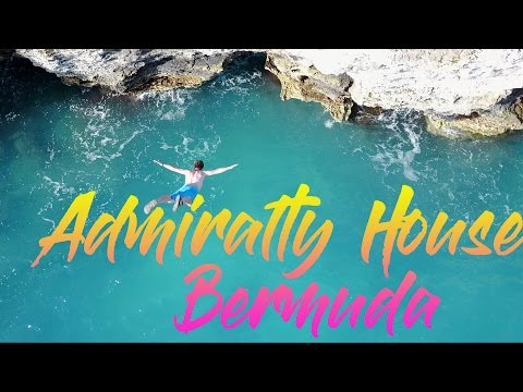 Cliff Jump into a Pirate Cave - Admiralty House Bermuda