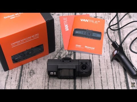 Vantrue N2 Pro - The World's First Dual Full HD Recording Dash Cam
