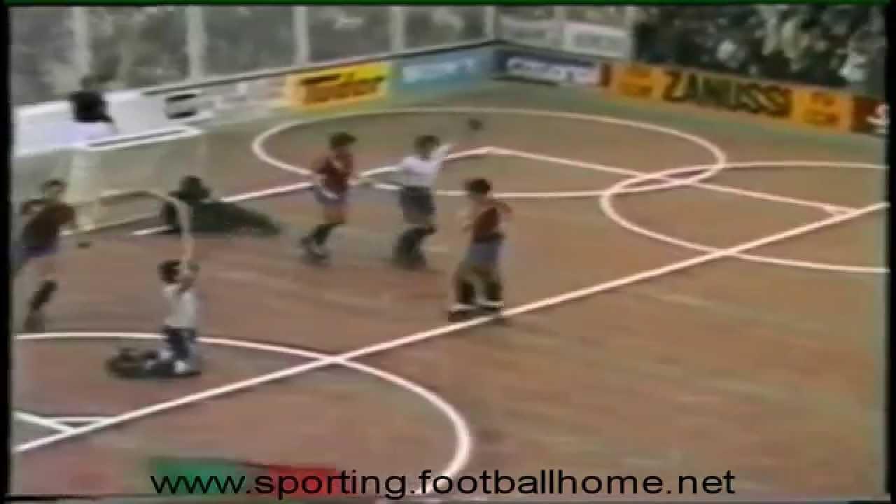 Hoquei Patins :: Chana no Campeonato do Mundo em 1982