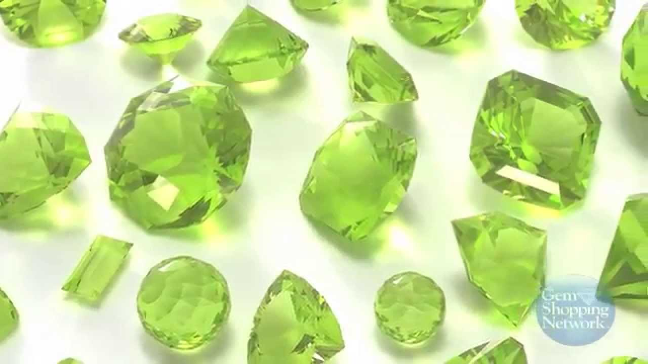 The August Birthstone Is Peridot Youtube