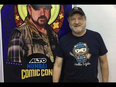 Jim Beaver aka Uncle Bobby from The Supernatural at Comic Con Mumbai 2016