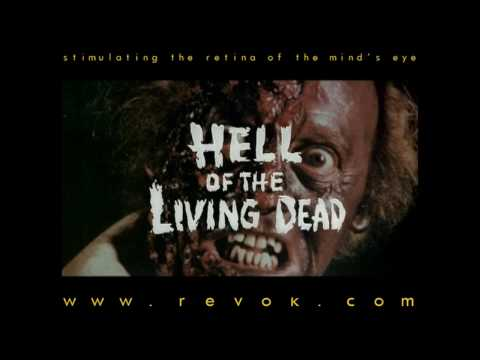HELL OF THE LIVING DEAD 1980  for Bruno Mattei's trashy zombie gore classic