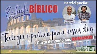 Estudo Bíblico | DEUS REJEITA OS SEUS ESCOLHIDOS? | 21/10/2020