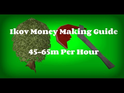 Ikov | Money Making Guide | 45-65M Per Hour | Camelot