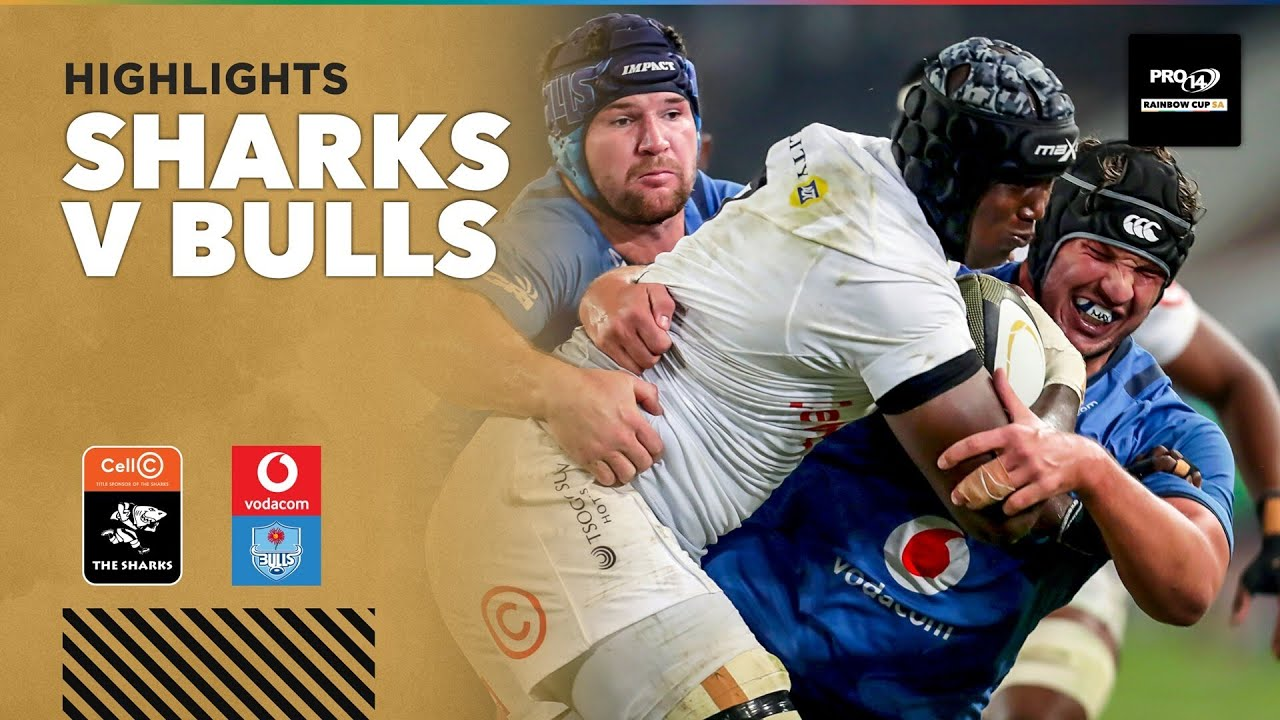3 Minute Highlights: Cell C Sharks v Vodacom Bulls   Round 6   PRO14 Rainbow Cup SA - PRO14 Rugby