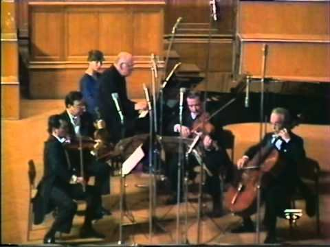 Sviatoslav Richter And The Borodin Quartet Play Shostakovich Piano Quintet  In G, Op. 57