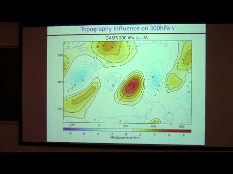 SoMAS / ITPA - Importance of Topography for the Large Scale Dynamics & Climate of the Mediterranean