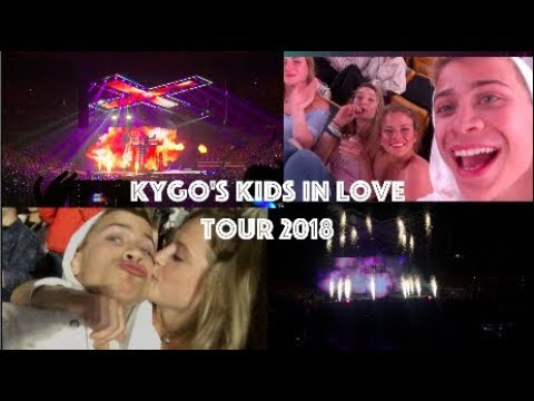 KIDS IN LOVE TOUR - Kygo Concert Vlog *Boston*