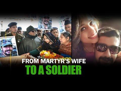 Pulwama Martyr's Wife Nikita Dhoundiyal To Join Indian Army | NewsMo