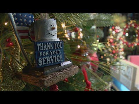 Military Family Donates Patriotic Ornaments To WCCO's Community Tree