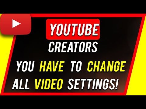 """How To Change """"Made For Kids"""" YouTube Video Setting"""