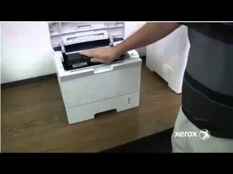 Xerox Phaser 3600 Replacing Toner