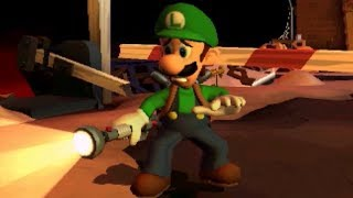 Luigi's Mansion: Dark Moon 100% Walkthrough Part 7 - Old Clockworks C-1 & C-2 (3-Star Rank)