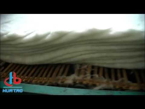 700gsm PET Short Fiber Nonwoven Geotextile Production Process