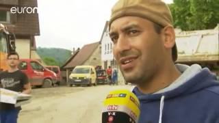 Les inondations font une première victime en Belgique