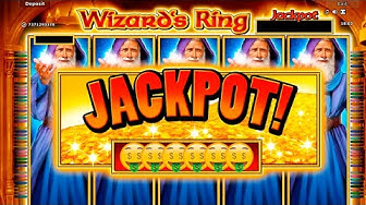 MY FIRST NOVOMATIC JACKPOT! (Wizard's Ring - Greentube)