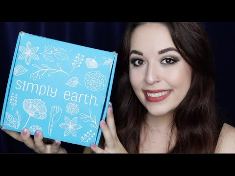 SIMPLY EARTH ESSENTIAL OIL RECIPE BOX | APRIL 2018 UNBOXING