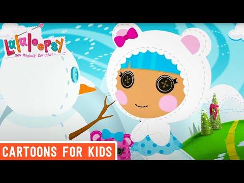 Building a Snowman Tree! | Lalaloopsy Clip | Cartoons for Kids