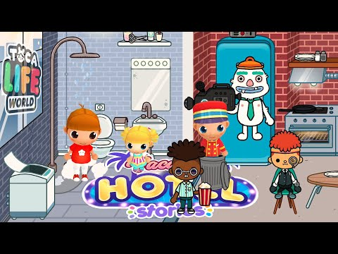Toca Life: World | Vacation Hotel Stories (Epic Mix) | Cute Little Games