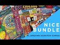 Trivial Pursuit, Buried Treasure, Gold 7's scratch cards from National Lottery© 17 June 2021