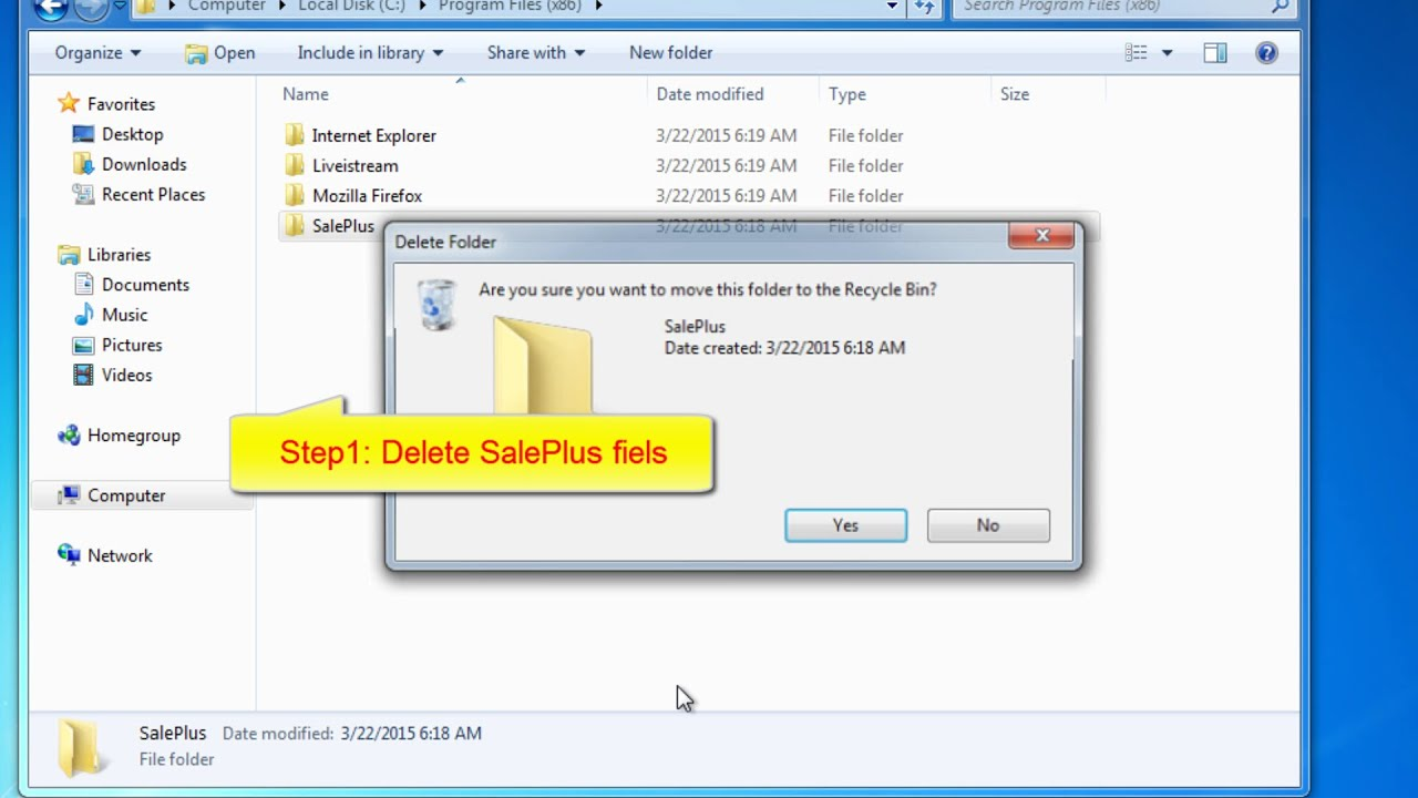 SalePlus removal easily (Ads by SalePlus removal guide) - YouTube