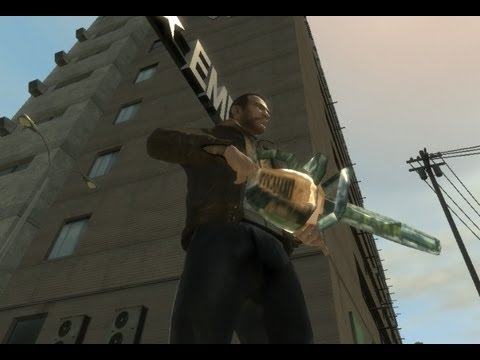 Chainsaw In GTA IV - Kinda Vice City Style [Script Mod]