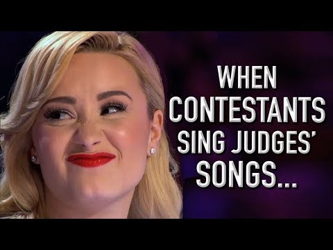 when-contestants-audition-with-judges'-songs!-|-x-factor-global