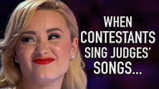 When Contestants Audition With Judges